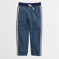 Boys' side-striped sweatpant