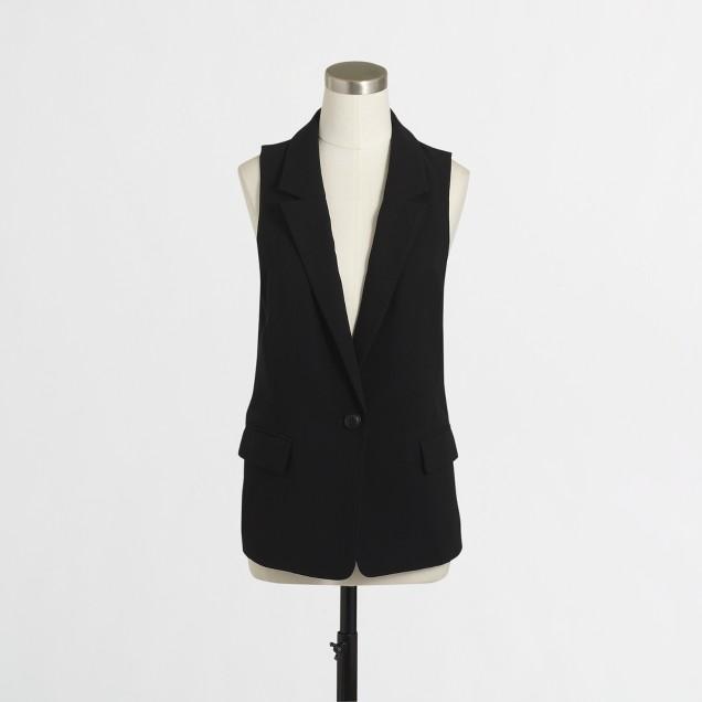 Drapey vest
