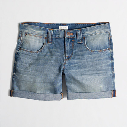 J.Crew Factory Womens Denim Shorts