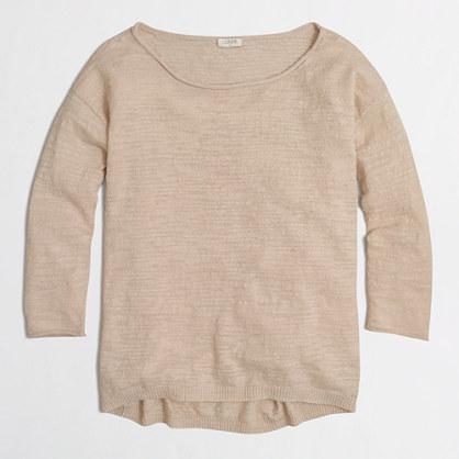 Boyfriend boatneck sweater