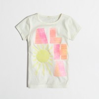 Girls' aloha keepsake t-SHIRT