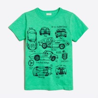 Boys' race car storybook t-SHIRT