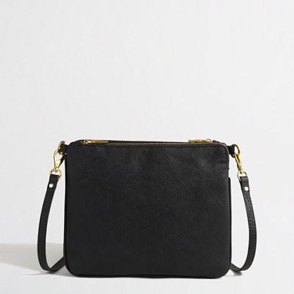 Crossbody zipper bag