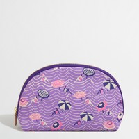 Printed cosmetic pouch