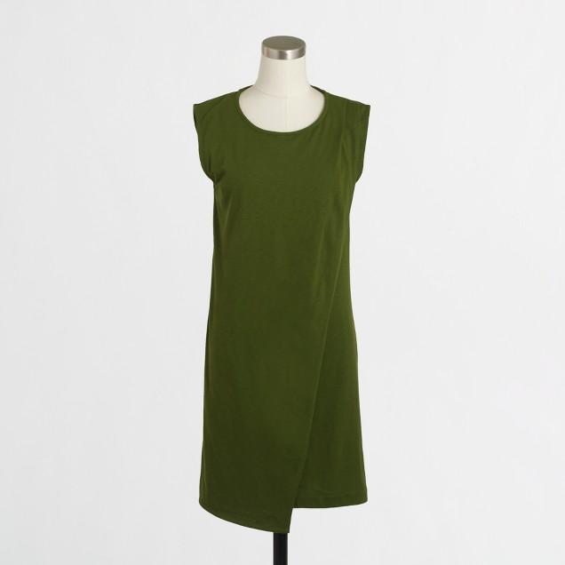 Drapey knit dress