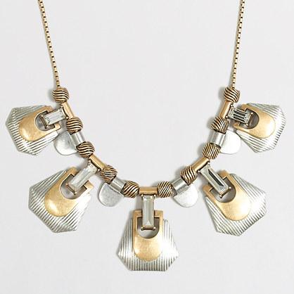 Mixed-metals necklace