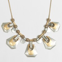 Mixed-metals necklace