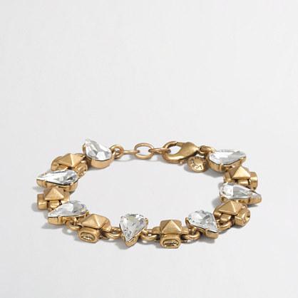 Crystal raindrops bracelet