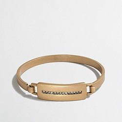 Factory golden latch bracelet