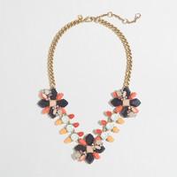 Floral path necklace