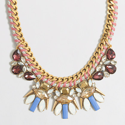Chord and clusters necklace