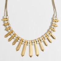 Golden spear necklace