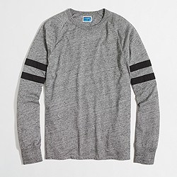 Slim double-striped football T-shirt