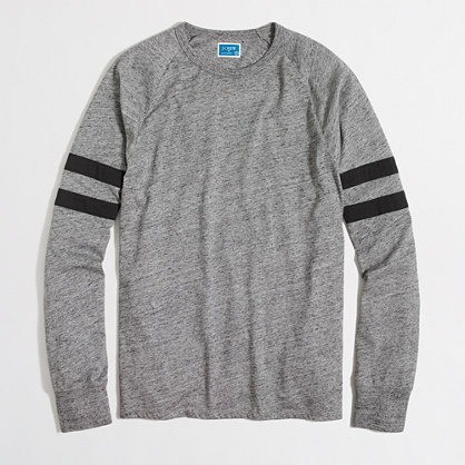 Slim double-striped football T-shirt