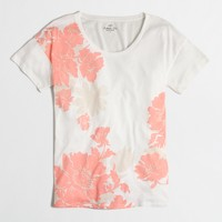 Floral collector T-shirt