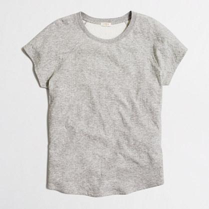 Double-knit baseball T-shirt