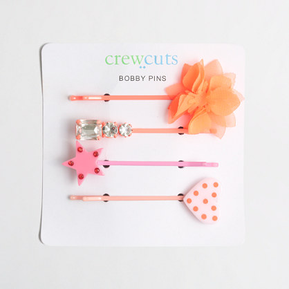 Girls' bobby pin set