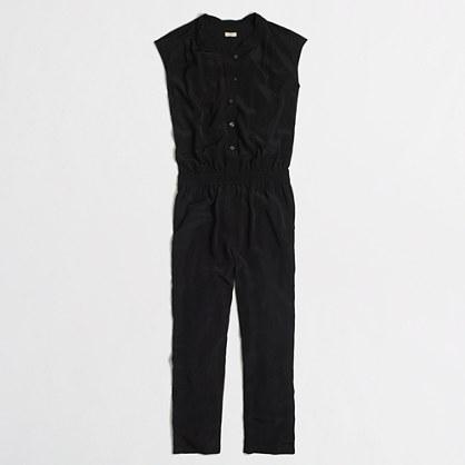 Twisted-neck jumpsuit