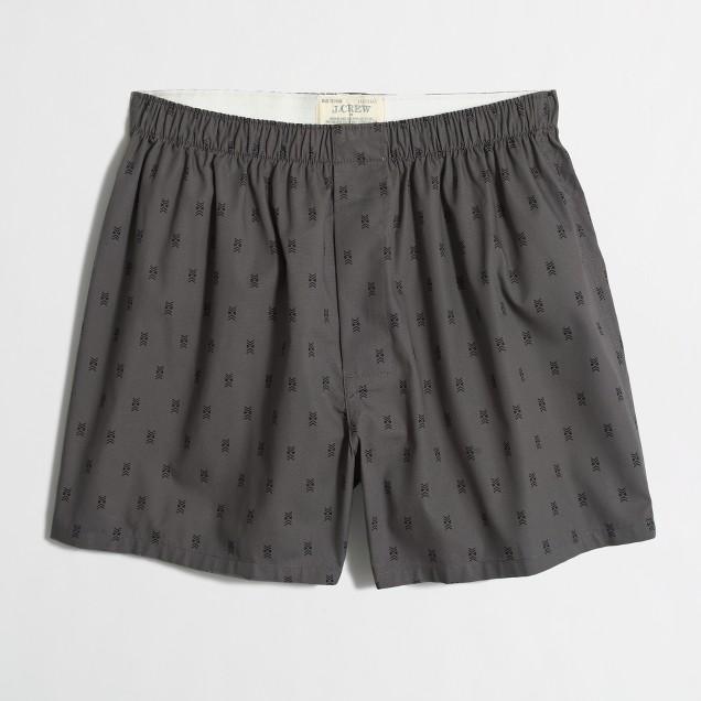 Geo-pattern boxers