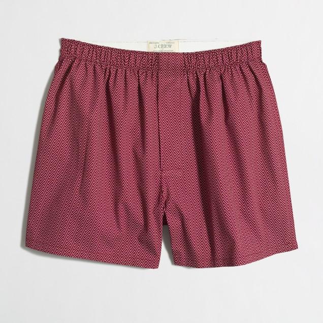 Zigzag boxers