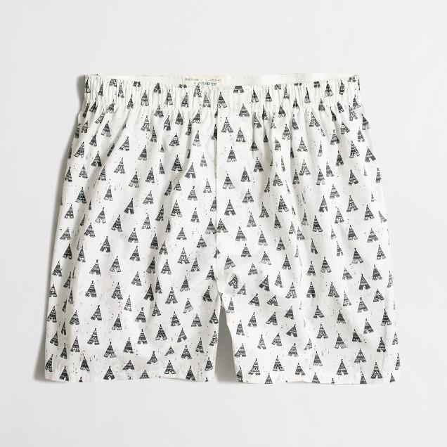 Tepee boxers