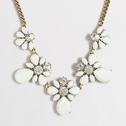 Crystal droplets necklace