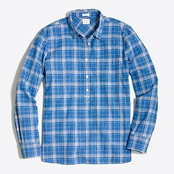 Factory homespun popover shirt in boy fit