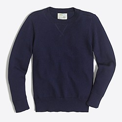 Boys' cotton sweatshirt sweater