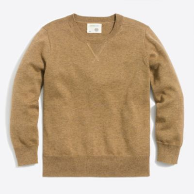 Boys' cotton sweatshirt sweater
