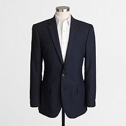 Thompson suit jacket in flex wool