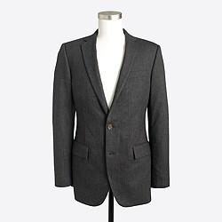 Factory Thompson suit jacket in flex wool
