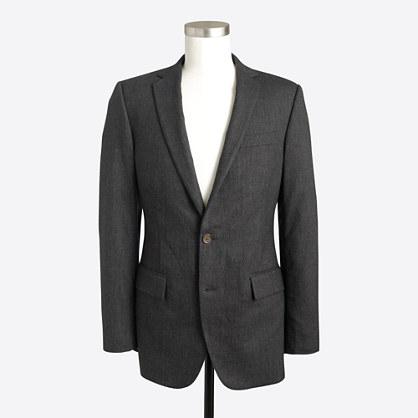Thompson suit jacket in flex wool