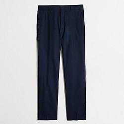 Factory slim Thompson suit pant in flex wool