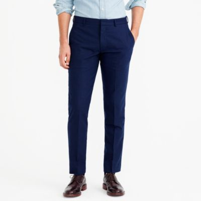 Slim Thompson suit pant in flex wool factorymen flex collection c
