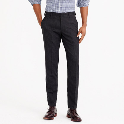 Slim Thompson suit pant in flex wool