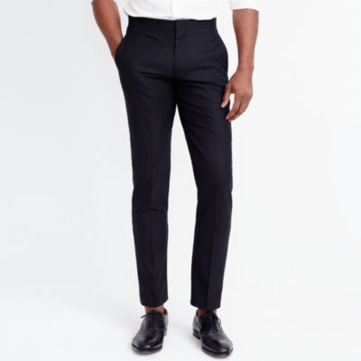 Slim Thompson tuxedo pant factorymen tall c