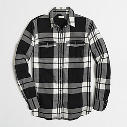Factory flannel shirt