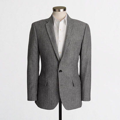 Thompson suit jacket in herringbone wool