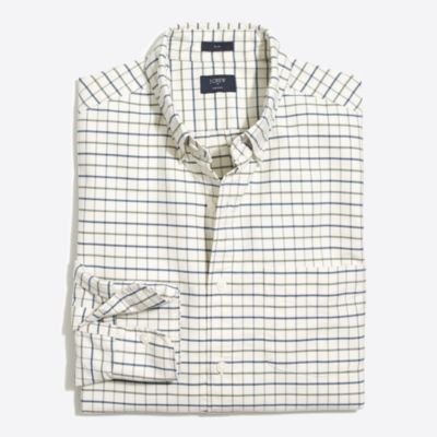 Plaid oxford shirt factorymen online exclusives c