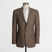 Thompson suit jacket in glen plaid