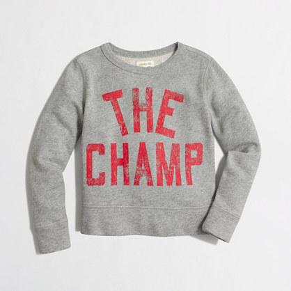 Boys' champ sweatshirt