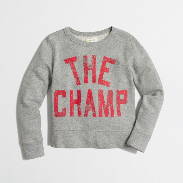 Boys' champ sweatshirt
