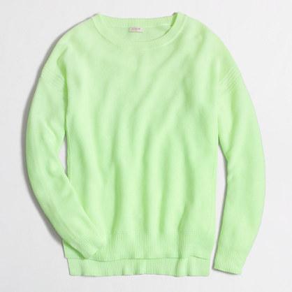 Cobble-stitch sweater