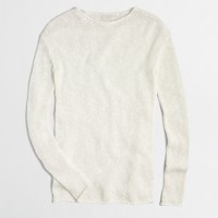 Knit boatneck sweater