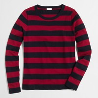 Rugby-striped sweater