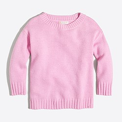 Girls' knit sweater tunic