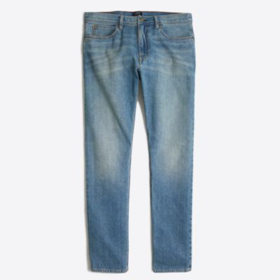 Sutton selvedge jean in light wash factorymen online exclusives c