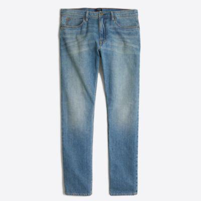 Sutton selvedge jean in light wash