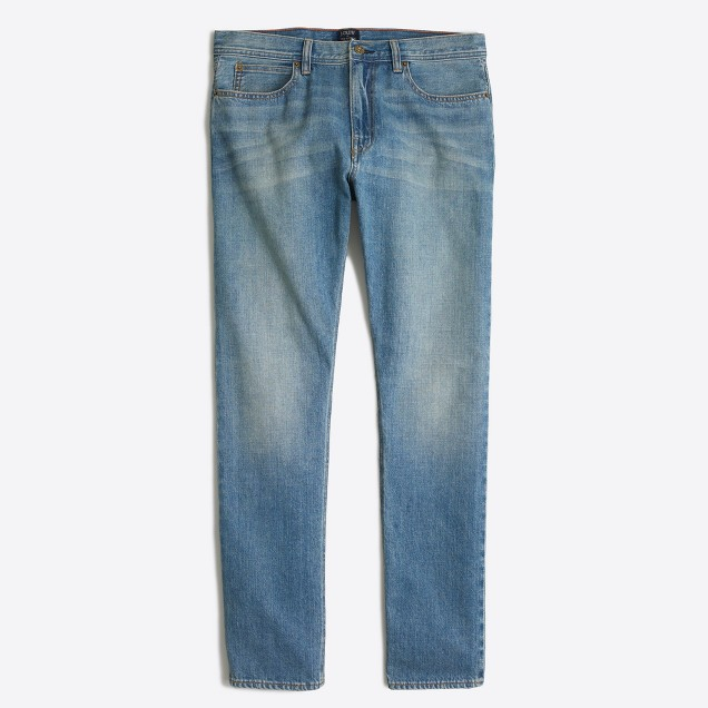 Sutton selvedge jean in light wash