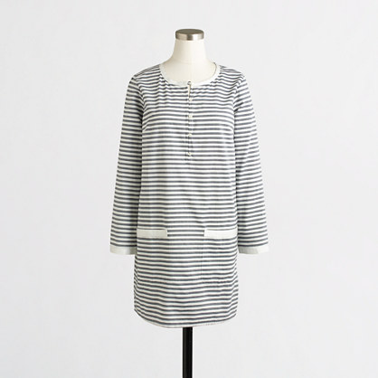 Striped pocket tunic